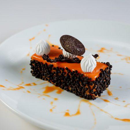 Orange Steamed Sponge Cake