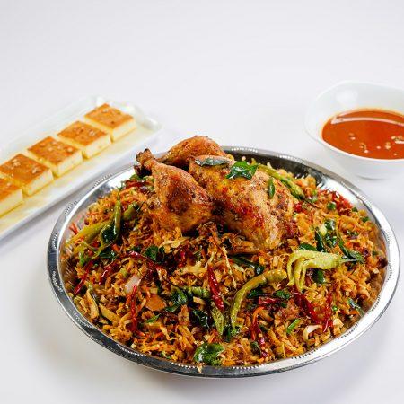 Sri Lankan - Chicken Koththu Sawan