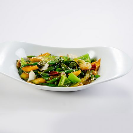 Wok fried Chinese Greens with Sesame