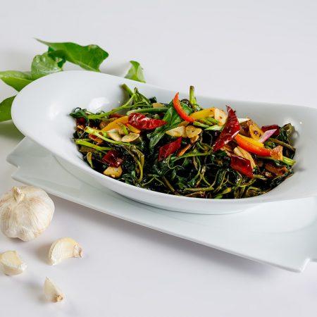 Sauteed Garlic Kankun