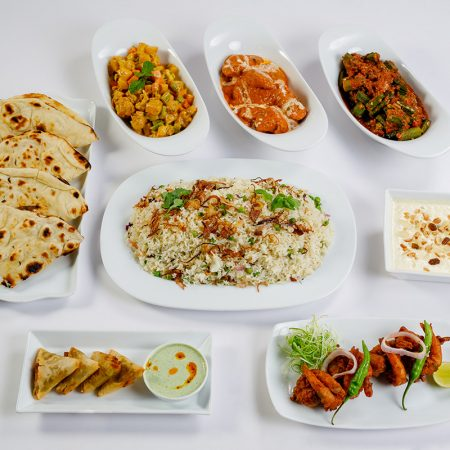 Indian Family Meal