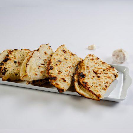 Indian garlic butter naan