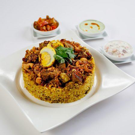 Indian Mutton Biriyani