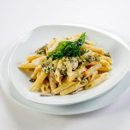 Penne Pasta with Cream of Mushroom