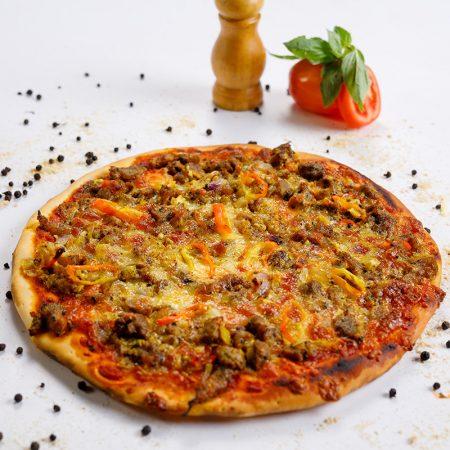 Pepper Pork Pizza