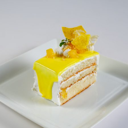 Cake Slice - Pineapple Gateau