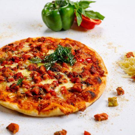 pizza - tandoori chicken