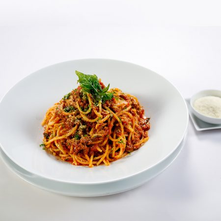 Spaghetti with Beef Bolognese Sauce