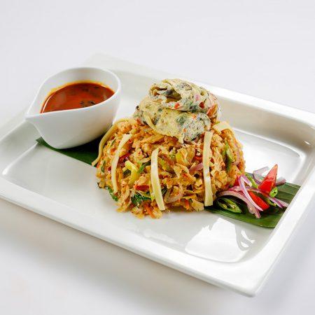 Cheese & Egg Koththu
