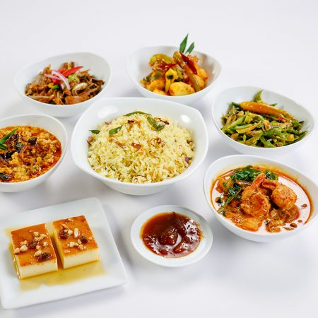 Ghee Rice Set Meal - Prawns