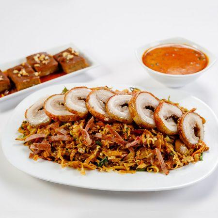 Pork Bacon Koththu