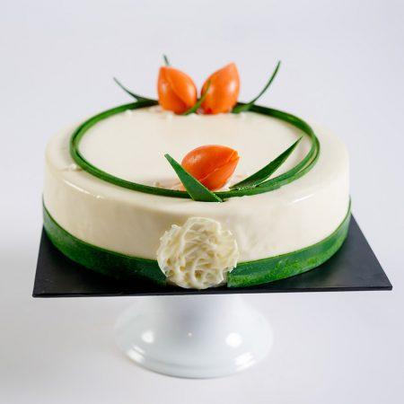 Vanilla Cold Cheese Cake