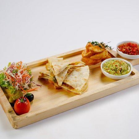 Seafood Quesadilla